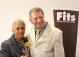 Profª Lúcia Maria Leite com o Diretor da Fits, Prof. Dario Arcanjo